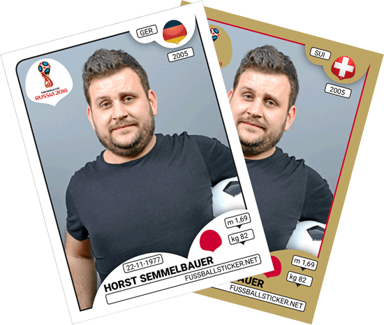 FIFA Word Cup 2018 Russland Panini Sticker